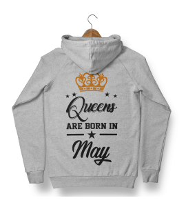 Капюшонка Queens are born in - 4001