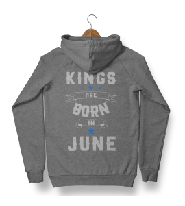 Капюшонка King are born in May - 4002